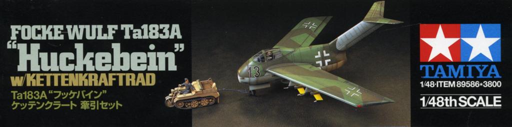 """Focke-Wulf Ta183A """"HUCKEBEIN"""" [1:48 - Tamiya] Ta_18322"""