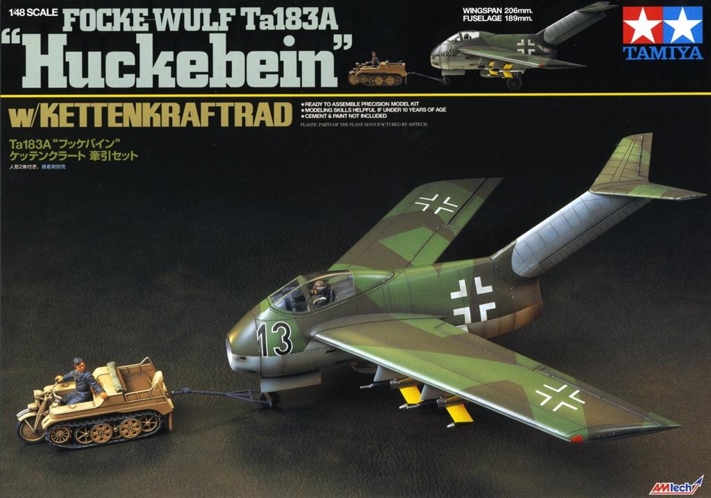 """Focke-Wulf Ta183A """"HUCKEBEIN"""" [1:48 - Tamiya] Ta_18324"""