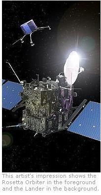 Chercher des échantillons sur un noyau cométaire Rosett10