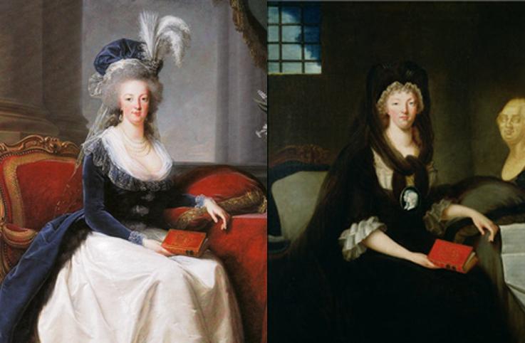 La Conciergerie : Marie-Antoinette dans sa cellule. Ma210