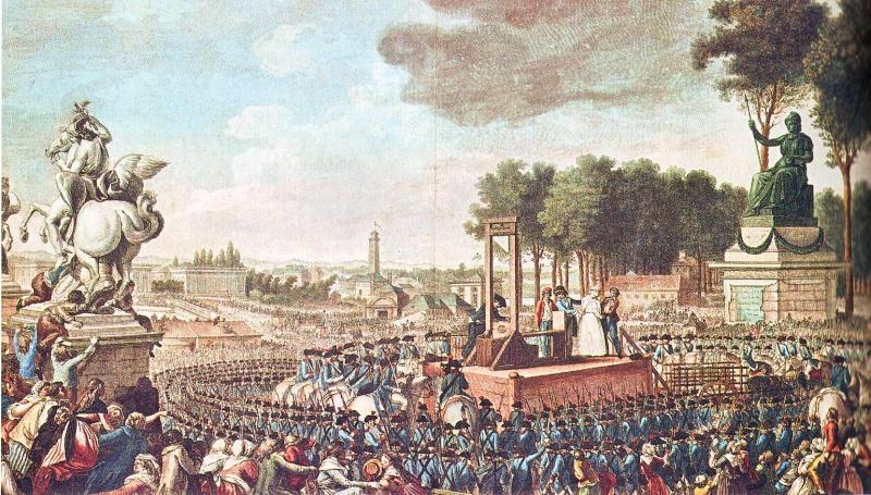 16 octobre - L'exécution de Marie-Antoinette le 16 octobre 1793 Maacha10