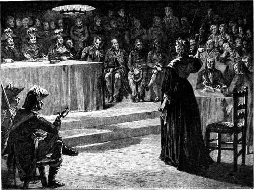 Le procès de Marie-Antoinette: images et illustrations Maproc10