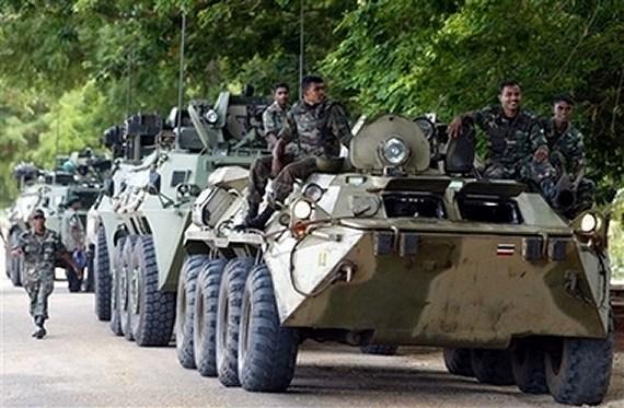 armée Sri-lankaise / Sri Lanka Armed Forces - Page 2 Btr-8010