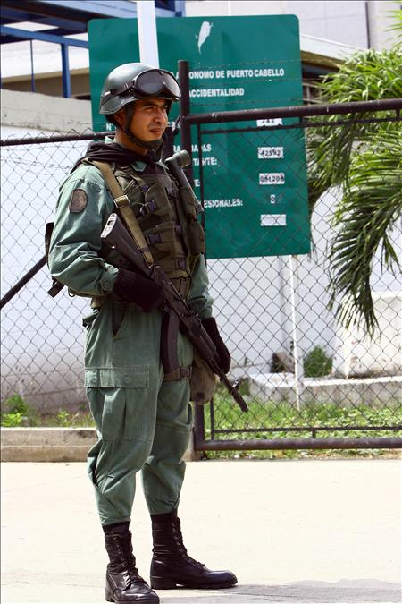 Armée Venezuelienne/National Bolivarian Armed Forces/ Fuerza Armada Nacional Bolivariana Efe21210