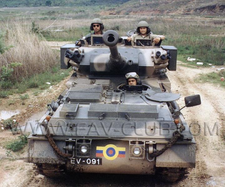 Armée Venezuelienne/National Bolivarian Armed Forces/ Fuerza Armada Nacional Bolivariana Evscop10
