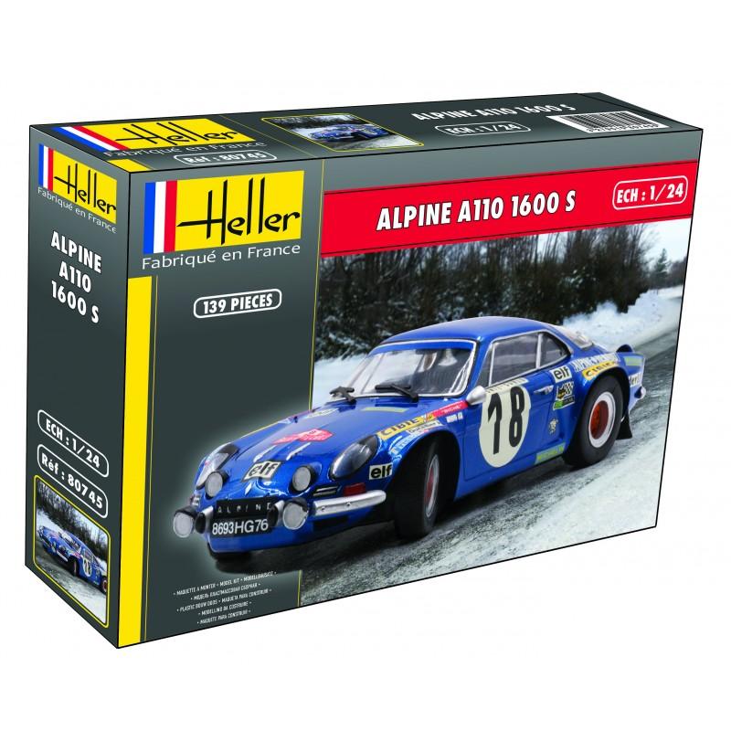 [HELLER] ALPINE A110 1600 S  - 1/24ème - Réf:80745 Alpine10