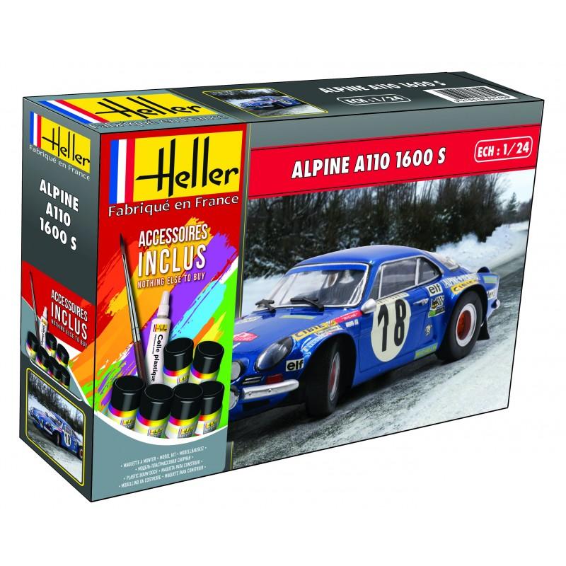 [HELLER] ALPINE A110 1600 S  - 1/24ème - Réf:80745 Alpine11