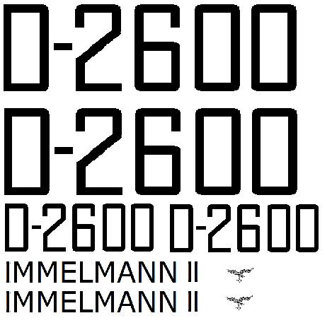 JUNKERS JU 52  Immelmann II Boite noire 1/72ème Réf 380 - Page 2 Decalc10