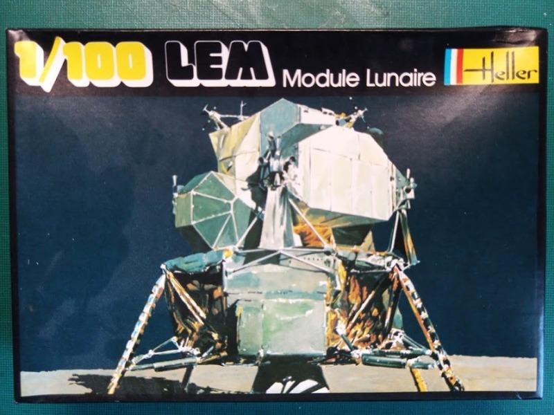 LEM Module Lunaire 1/100 Réf CADET 019 Img_2080