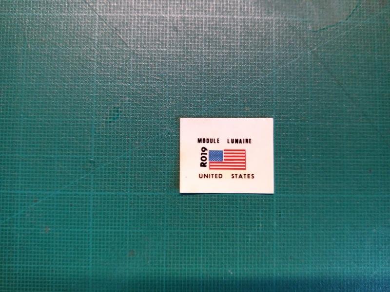 LEM Module Lunaire 1/100 Réf CADET 019 Img_2083