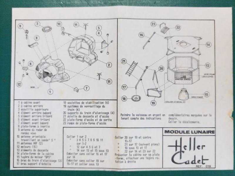 LEM Module Lunaire 1/100ème Réf CADET 019 Notice Img_2094