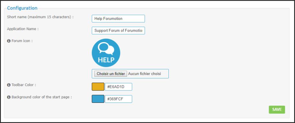 Progressive Web App (PWA) available on Forumotion forums 31-07-10
