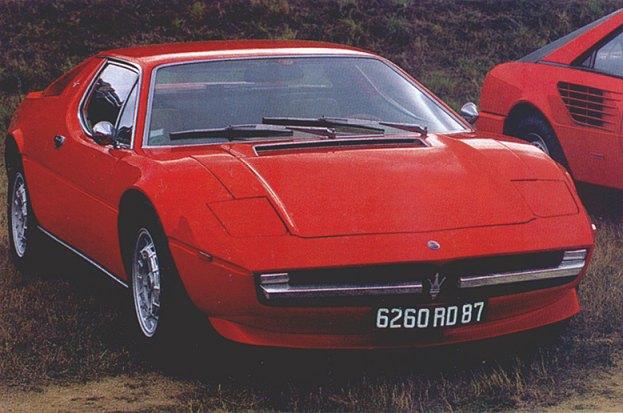 [Présentation] Le design par Maserati Merak10