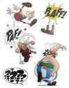 Stickers muraux Astérix Buphjg10