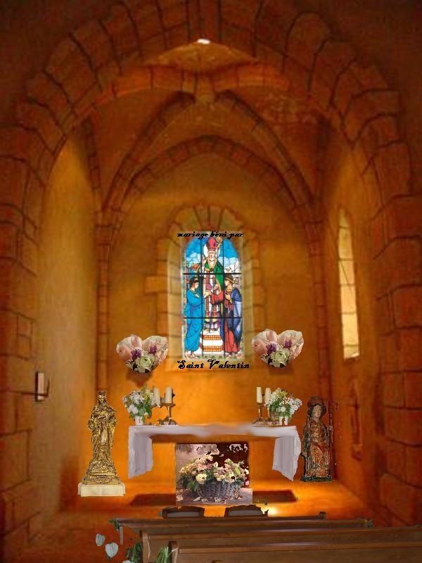Préparation de la chapelle pour le Mariage de Bzeuh et Roxetrice Chapel15