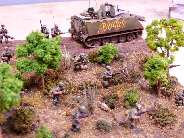 Suggestion pour un diorama 1/72 de la guerre du Vietnam P1000110