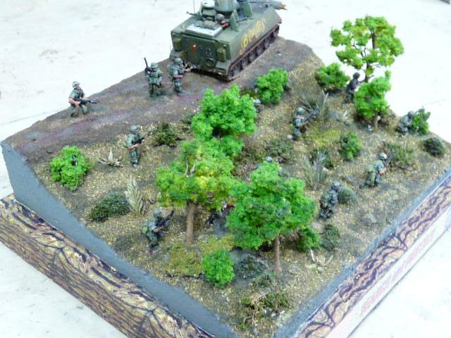 Suggestion pour un diorama 1/72 de la guerre du Vietnam P1000111