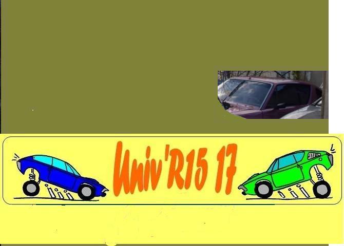 Photos de R15 & R 17 en arrière plan Arrier10