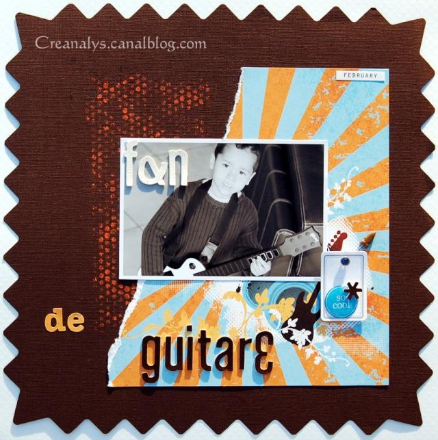 Fan de guitare Fande110