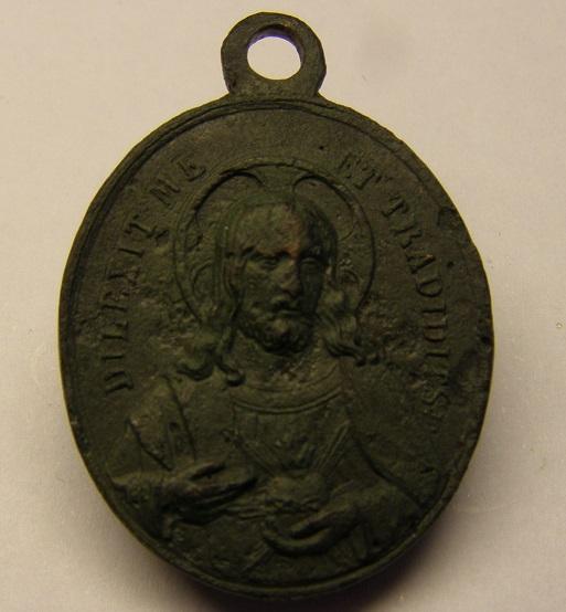 Medalla Sagrado Corazón - UT PARTURIENTIS. Med11_11
