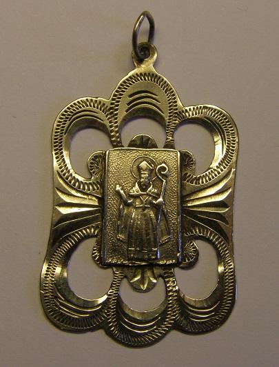 Medalla de Sant Marçal, Montseny. Finales siglo XIX o principios del XX. Med12_20