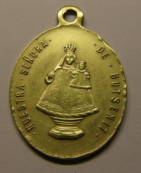 Otra medalla de Nª Sª de Butsènit, Lleida. Finales siglo XIX. (AM) Med3_210