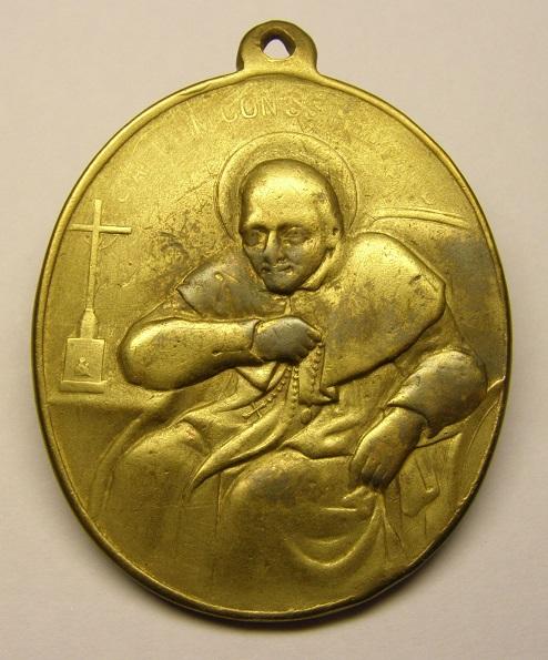 S. Alfonso Maria de Ligorio / Cristo Redentor - s. XIX Med8_111