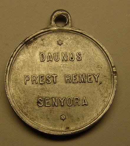 Ayuda con esta medalla de principios del siglo XX. Med9_510