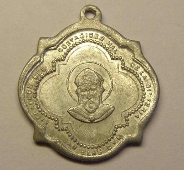Medalla de San Blas, contra la difteria. Med_1810