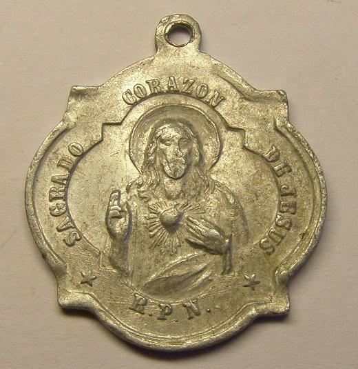 Medalla de San Blas, contra la difteria. Med_1811