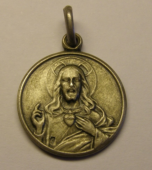 Medalla de Nª Sª de la Bovera, Guimerà. Siglo XX.  (MAM) Med_1813