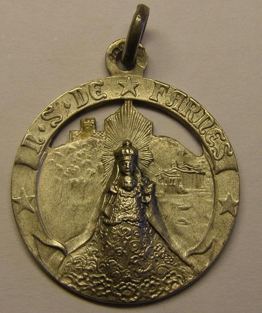 Medalla de Nª Sª DE Farners. Siglo XX. (MAM) Med_1822