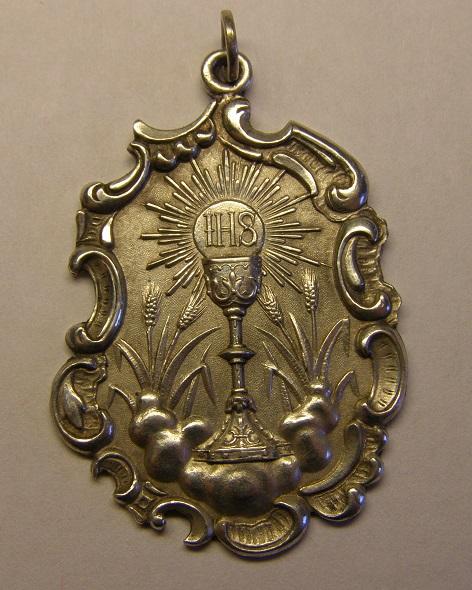 Medalla del Santísimo Sacramento, segunda mitad siglo XIX. Med_2010