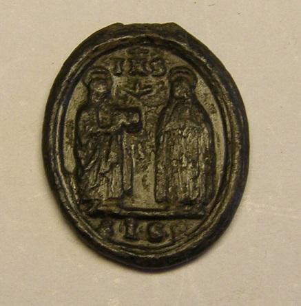 Santos canonizados 1622: S. Ignacio de Loyola, S. Fco. Javier, Sta. Teresa, S. Isidro Labrador y S. Felipe Neri, S. XVII Med_310