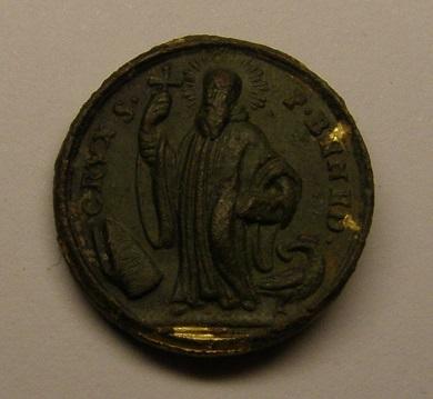 Medalla de Nª Sª de Montserrat - San Benito,  siglo XVIII. Medall31
