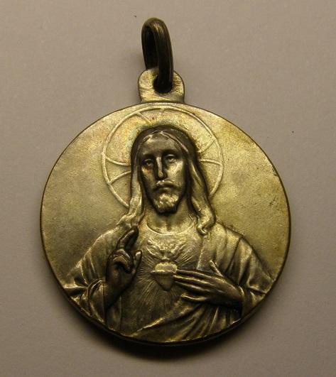 Medalla de Nª Sª de Montserrat, primera mitad del siglo XX. Medall37