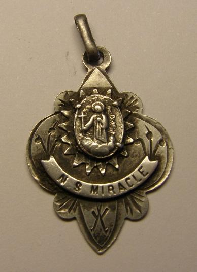 Medalla Nª Sª del Miracle, final s. XIX, principios s. xx Medall42