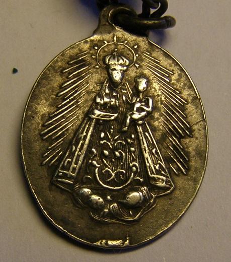 Medalla de Nª Sª de la Consolación, Utrera, (Sevilla), siglo XIX. Rosar617