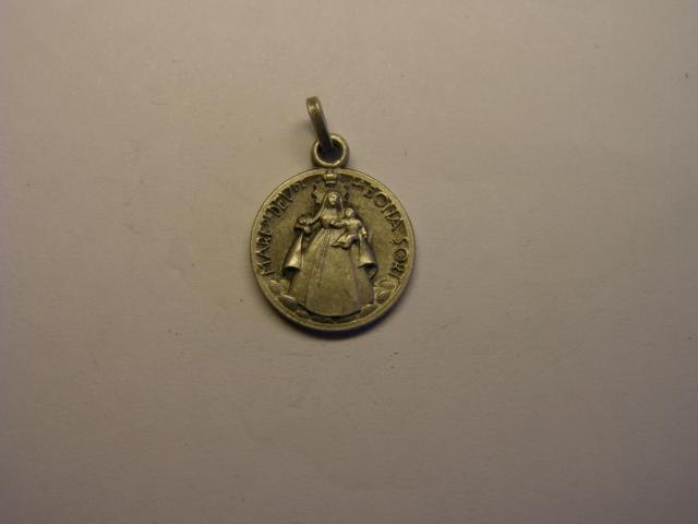 Medalla Mare de Deu de la Bona Sort, Collsabadell. Tc_12_14