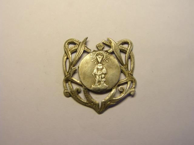 Medalla de la Mare de Deu del Refugi. Tc_12_22