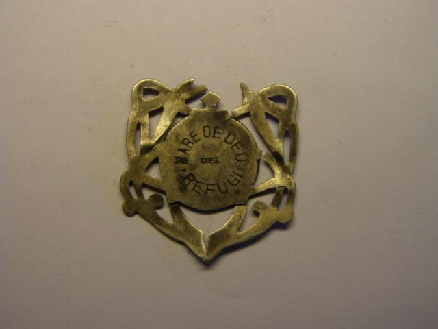 Medalla de la Mare de Deu del Refugi. Tc_12_23