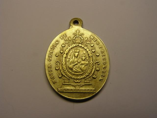 Medalla de Sor Filomena de Sª Coloma dei Minimi. Siglo XIX. (R.M.) Tc_14_13