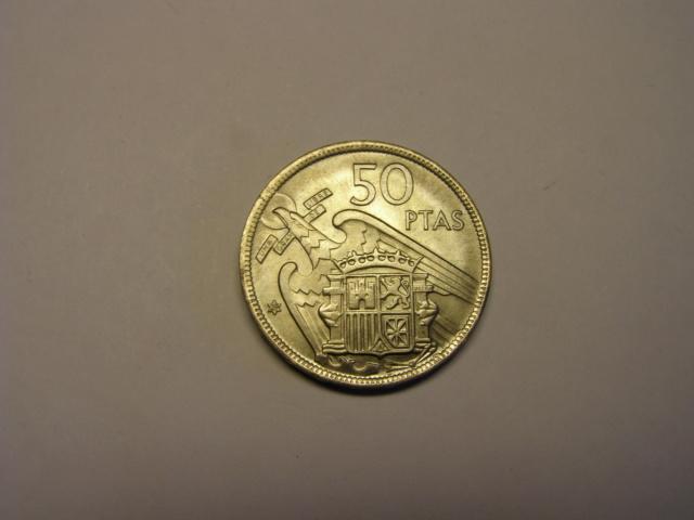 50 pesetas estado español año 1957 estrella 69 Tc_14_15