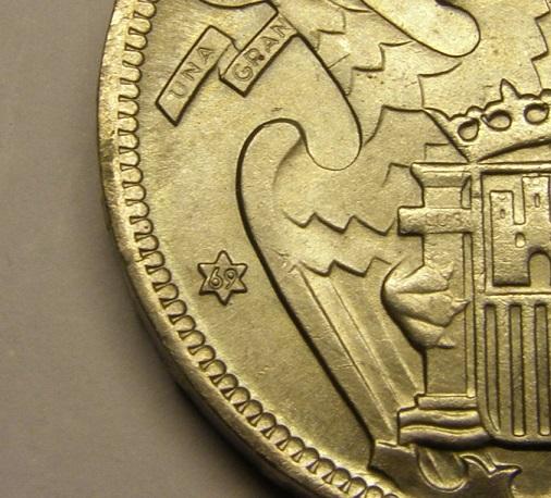 50 pesetas estado español año 1957 estrella 69 Tc_14_16