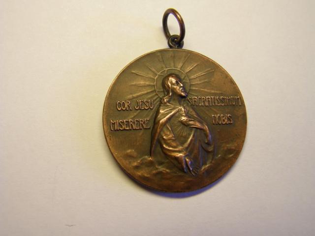 Medalla de coronación, Virgen del Claustro, Tarragona, año 1911. (AM) Tc_15_15