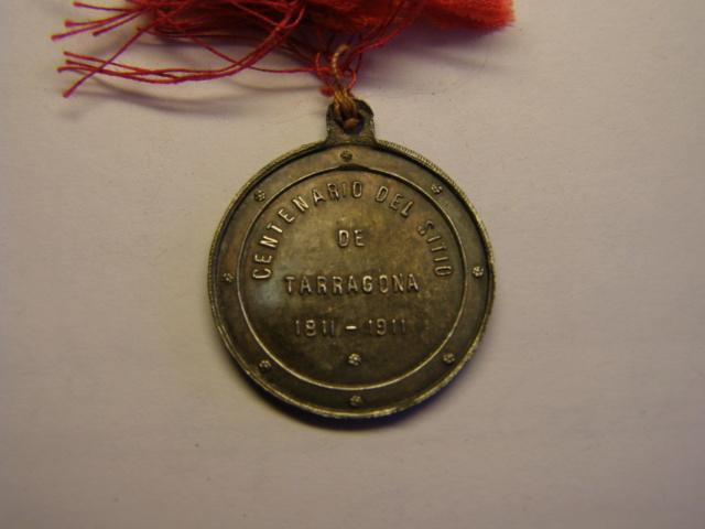 Medalla de coronación, Virgen del Claustro, Tarragona, año 1911. (AM) Tc_15_17