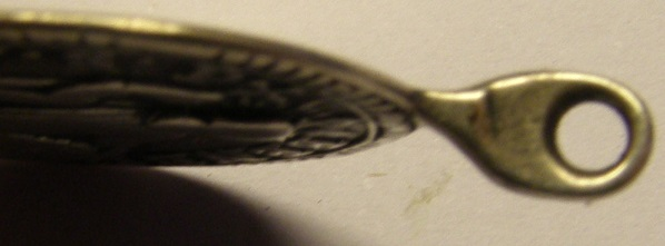 Medalla de Nª Sª de Montserrat y San Benito, siglo XVIII, variante MONSERRATE. (R.M. SXVIII-O450) Tc_17_19