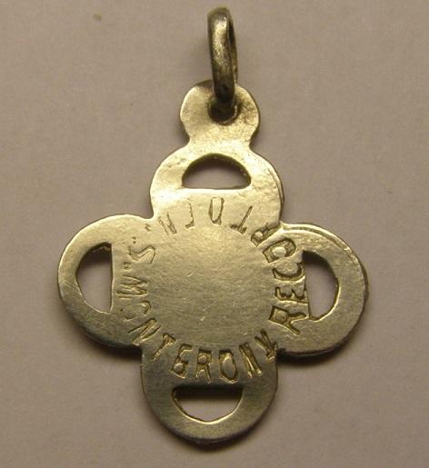 Medalla de Nª Sª de Montgrony, Gombren, comarca del Ripollés.  Tc_20_15