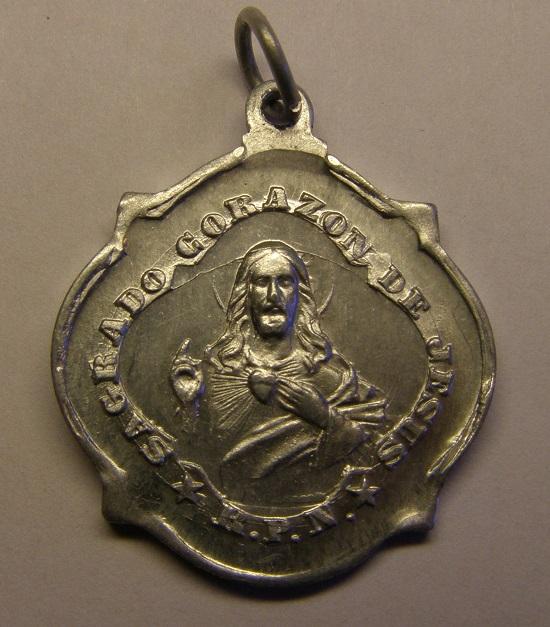 Otra medalla de Nª Sª de Butsènit, Lleida. Principios siglo XX. (AM) Tc_28_10