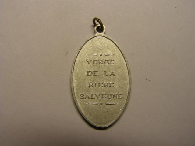 Medalla de la Virgen - Verge  de la Riera, Borges del Camp, Tarragona. Ppios del s XX (AM) Tc_28_13